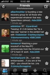Al Mohler's tweet in response to Morris Chapman's view of Calvinism